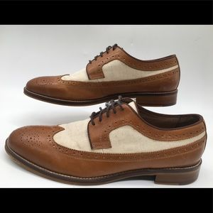 Johnston & Murphy Conard Wing Tip Oxford  Size 13